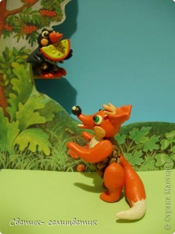 """И.Крылов. """"Ворона и лисица"""". Басня. фото 5"""