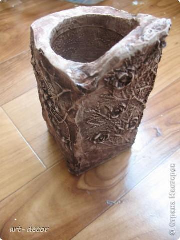 Отпечатки в гипсе листвы, заколки для волос, растения туя, рябины  фото 3