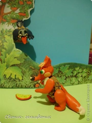 """И.Крылов. """"Ворона и лисица"""". Басня. фото 7"""