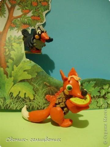 """И.Крылов. """"Ворона и лисица"""". Басня. фото 8"""
