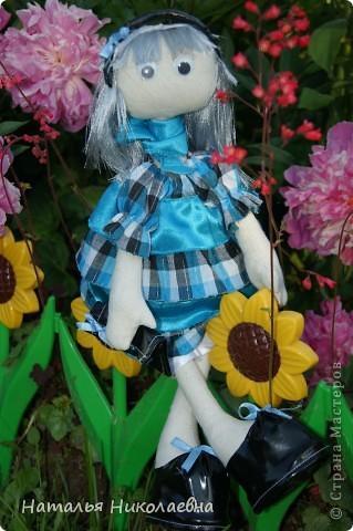 Еще одна куколка сшилась благодаря организованному в Стране Мастеров совместному пошиву. Спасибо за СП! фото 1