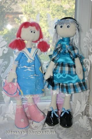 Еще одна куколка сшилась благодаря организованному в Стране Мастеров совместному пошиву. Спасибо за СП! фото 3