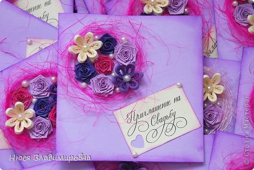 """Изображения на тему """"Квиллинг Свадебные Приглашения"""" / picsuk.ru"""