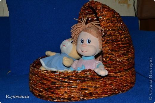 Колыбелька для кукол