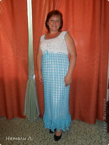 Платья и сарафаны вязаные крючком