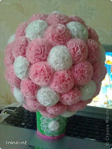 Еще один цветочный шар