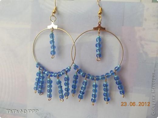 Сережки для моих доченек.... фото 5