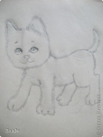 МУРЗИК! Мой рисунок.