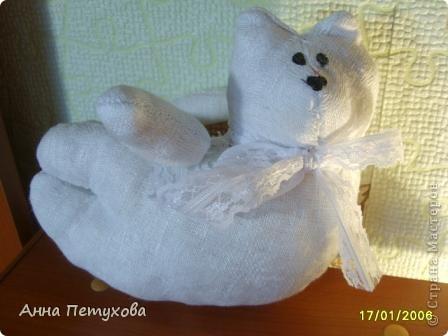 Мышка тильда и подушечка для нее)) фото 6