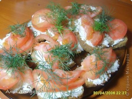 Предлагаю простой и очень вкусный рецептик бутербродов. фото 1