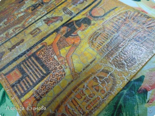 И снова Египет,и снова обложка.Моя первая маленькая победа над кракелюром! фото 2