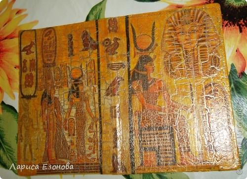 И снова Египет,и снова обложка.Моя первая маленькая победа над кракелюром! фото 3