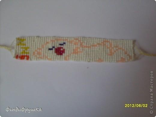 Это моя первая работа таким плетением!=) фото 2