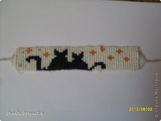 Это моя первая работа таким плетением!=) фото 3
