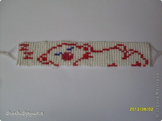 Это моя первая работа таким плетением!=) фото 1