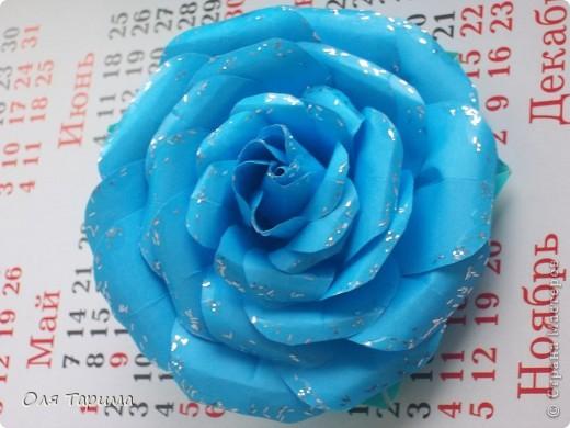 Новогодняя роза))) фото 1