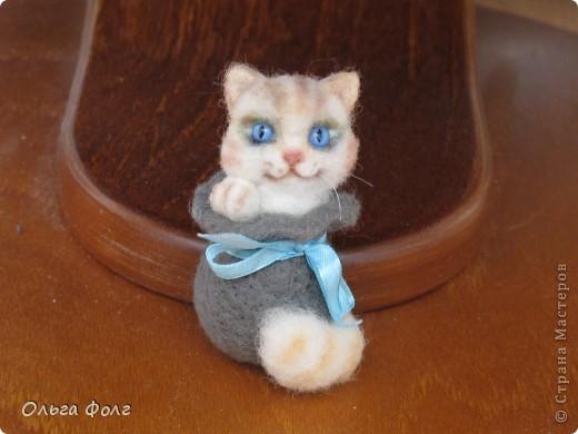 Кот  в  мешке.  Брошь фото 4