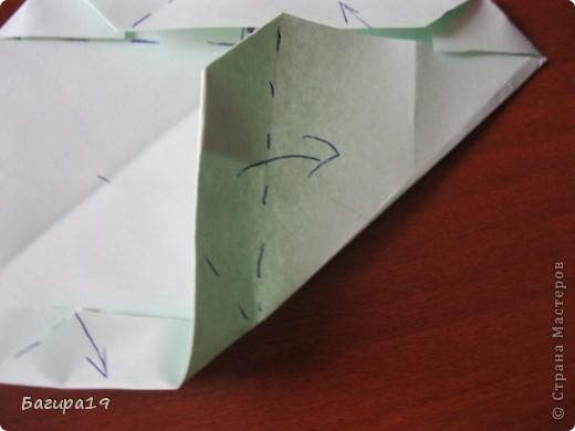 Наконец решила сделать мк по японской капусте. Кусудама простая и красивая, необычная. Нам понадобится: 6 квадратов одного размера, хорошее настроение и наши золотые ручки! Куська собирается без клея. Автор: Minako Ishibashi (Минако Ишибаши) фото 17
