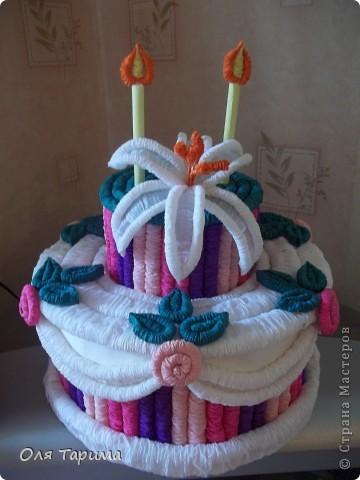 ещё один тортик... фото 2