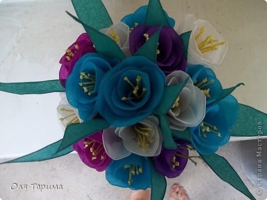 корзиночка с цветами фото 5