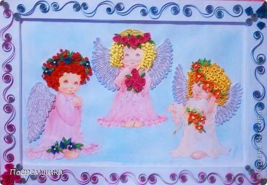 Вот такие ангелочки теперь будут у моей племянницы=)) фото 1