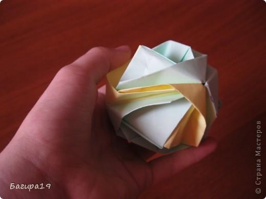 Наконец решила сделать мк по японской капусте. Кусудама простая и красивая, необычная. Нам понадобится: 6 квадратов одного размера, хорошее настроение и наши золотые ручки! Куська собирается без клея. Автор: Minako Ishibashi (Минако Ишибаши) фото 39