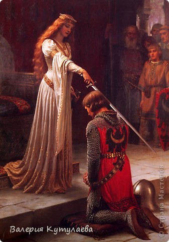 Познакомьтесь: Гвине́вра, Гвиневера, Гиневра или Джиневра (англ. Guinevere) — супруга легендарного короля Артура!!!Один из первых и эталонных образов Прекрасной Дамы в средневековой куртуазной литературе. фото 11
