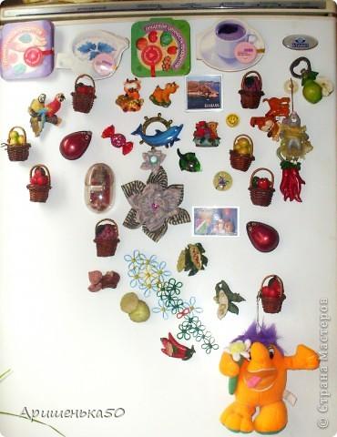 Цветок на магните, из ободков от пластиковых бутылок. фото 5