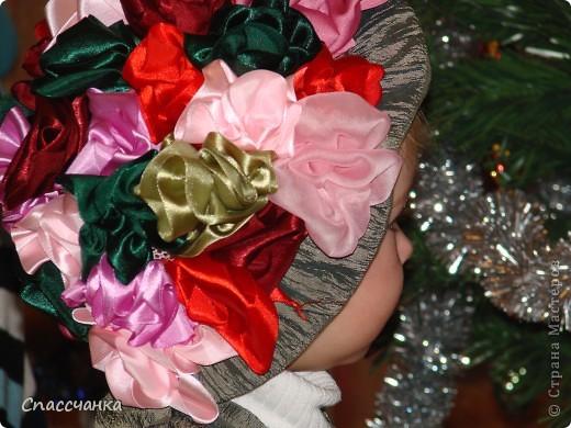 Моя маленькая модель-Ева, два с половиной года а хотела быть красивой!! Поэтому решили новогодний костюм шить сами!!! фото 2