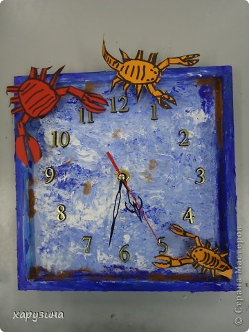 Часы - НА МОРСКОМ ПЕСОЧКЕ фото 1