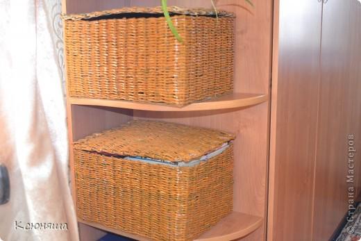 Коробушки под мелочевку и под бумаги.Вообще в них скрыть можно что угодно.