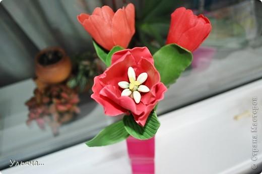Тюльпаны из Thai clay фото 4