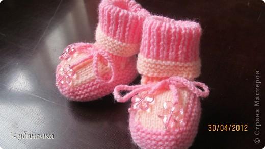 Мой первый опыт создания обуви для внучки.  фото 3