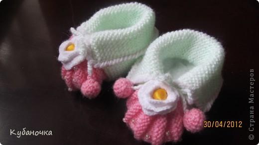 Мой первый опыт создания обуви для внучки.  фото 4