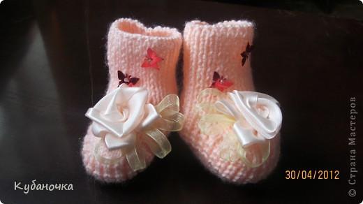 Мой первый опыт создания обуви для внучки.  фото 2