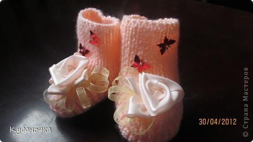 Мой первый опыт создания обуви для внучки.  фото 1