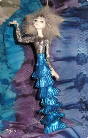 А это моя вторая статуэтка. Назвала - Морская (или Марина) :) фото 2