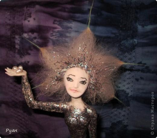 А это моя вторая статуэтка. Назвала - Морская (или Марина) :) фото 1