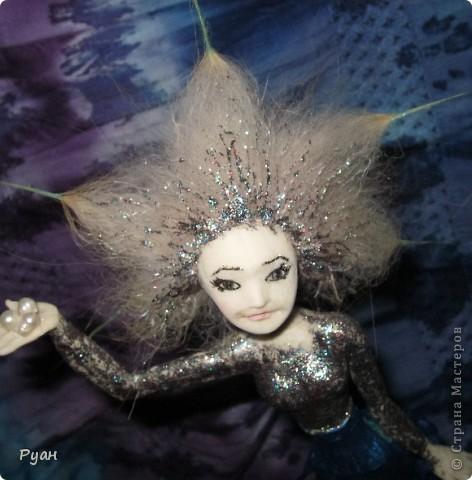 А это моя вторая статуэтка. Назвала - Морская (или Марина) :) фото 4