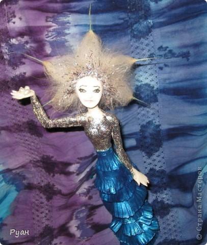 А это моя вторая статуэтка. Назвала - Морская (или Марина) :) фото 3