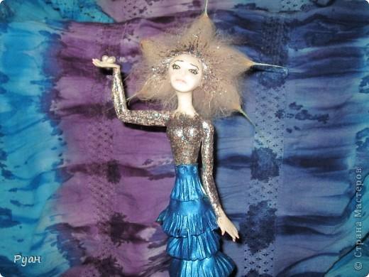 А это моя вторая статуэтка. Назвала - Морская (или Марина) :) фото 5