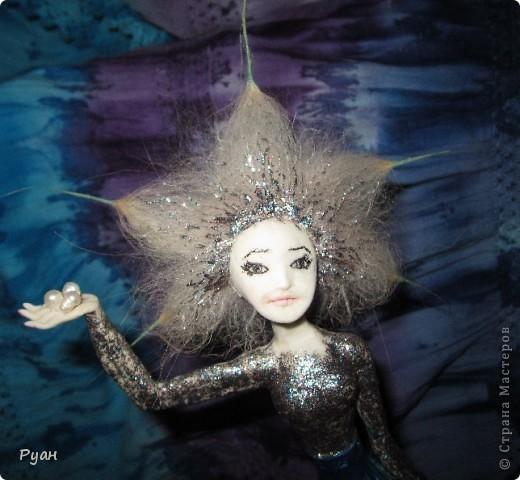 А это моя вторая статуэтка. Назвала - Морская (или Марина) :) фото 6