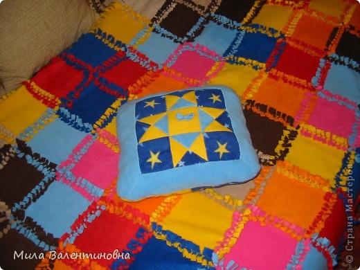 Покрывало и три подушки, подарок маме на 8 Марта. фото 3