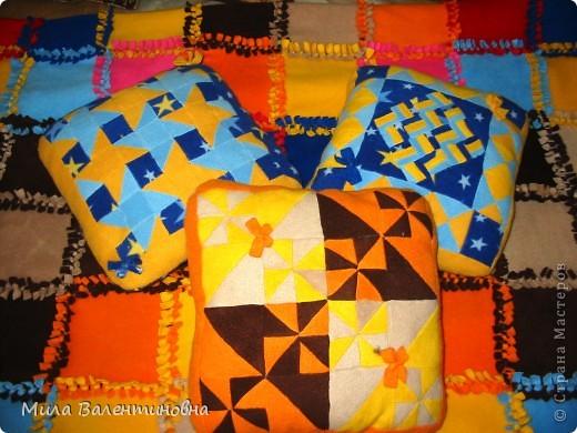 Покрывало и три подушки, подарок маме на 8 Марта. фото 8