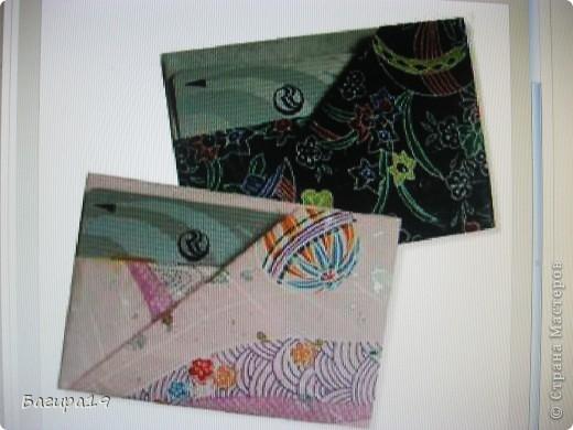 А вот и третья часть моих конвертиков. Этот подойдёт для хранения кредитных карт. И так... фото 18