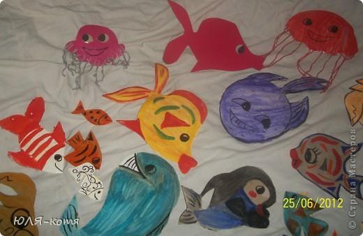 вот сколько морских жителей я сделала.дочке в садик нужно украсит беседку.тема-морская.как говорится-как смогла.... фото 5