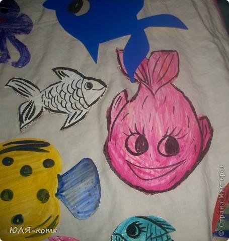 вот сколько морских жителей я сделала.дочке в садик нужно украсит беседку.тема-морская.как говорится-как смогла.... фото 8