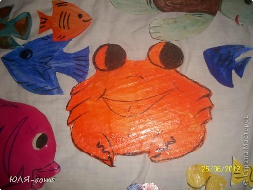 вот сколько морских жителей я сделала.дочке в садик нужно украсит беседку.тема-морская.как говорится-как смогла.... фото 9