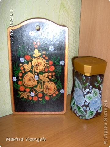 решила облагородить  использованные коробочки и бутылку)) фото 3