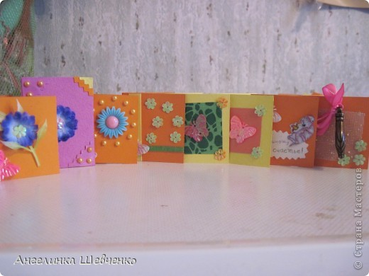 Всем привет! Я сделала замечательные открытки! Надеюсь вам понравится! Но на этом фото лишь часть того что я сделала! фото 2